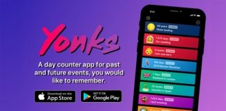 Yonks - A day counter that also looks like something